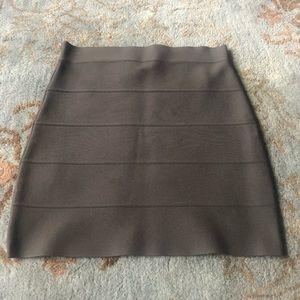 BCBGMaxAzria Skirts - BCBG Simone Power Bandage Skirt in Dark Olive